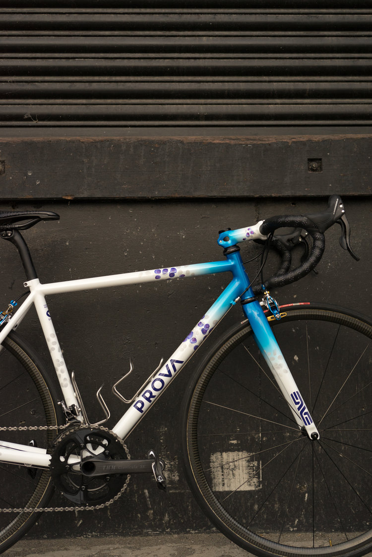 Prova Cycles Custom Steel Bicycle Frames