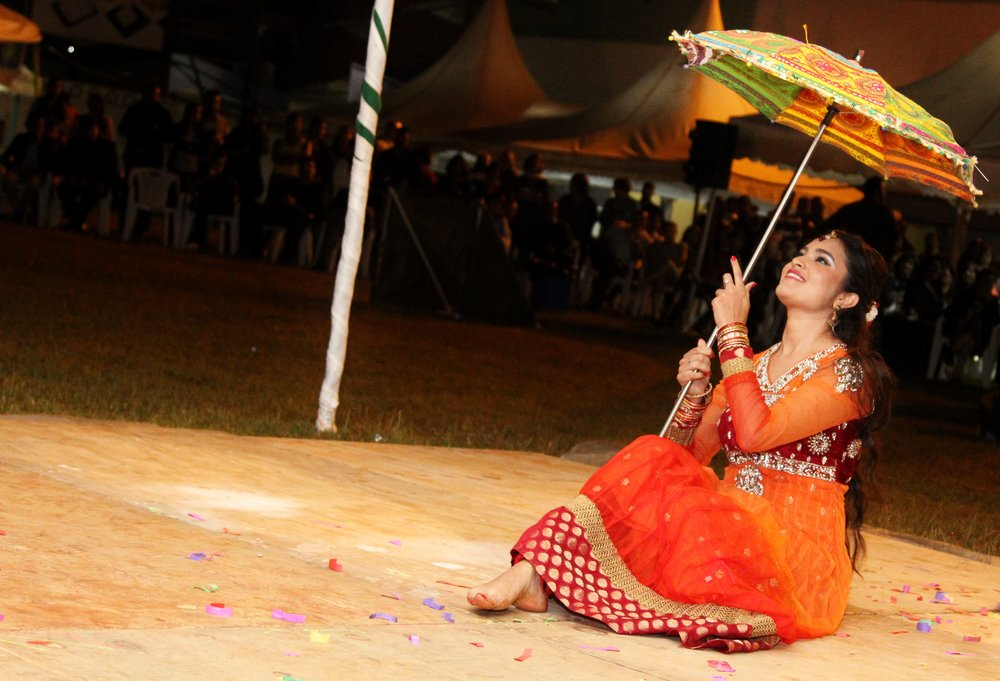 Karishma Kassam performs her winning act during Soko Moto.JPG