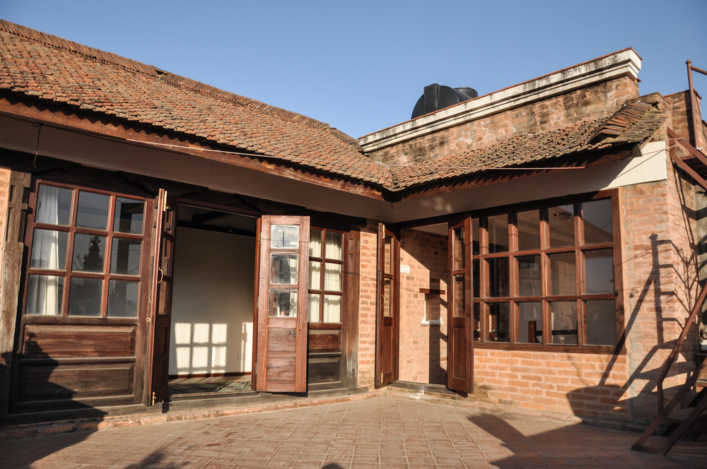 Private roof terrace where you can see beautiful view of durbar square.