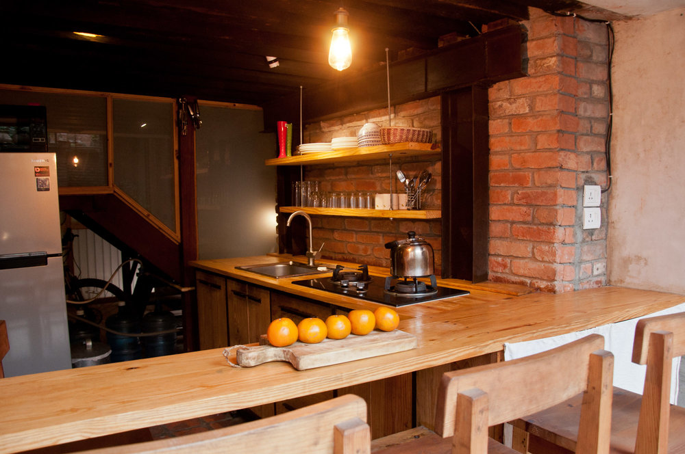 Well equipped kitchen to prepare your breakfast, lunch or dinner.