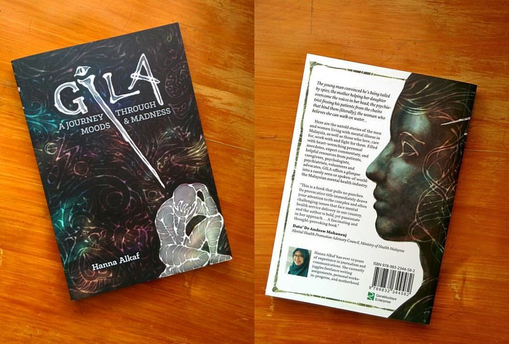 Wraparound cover for GILA by Hanna Alkaf.