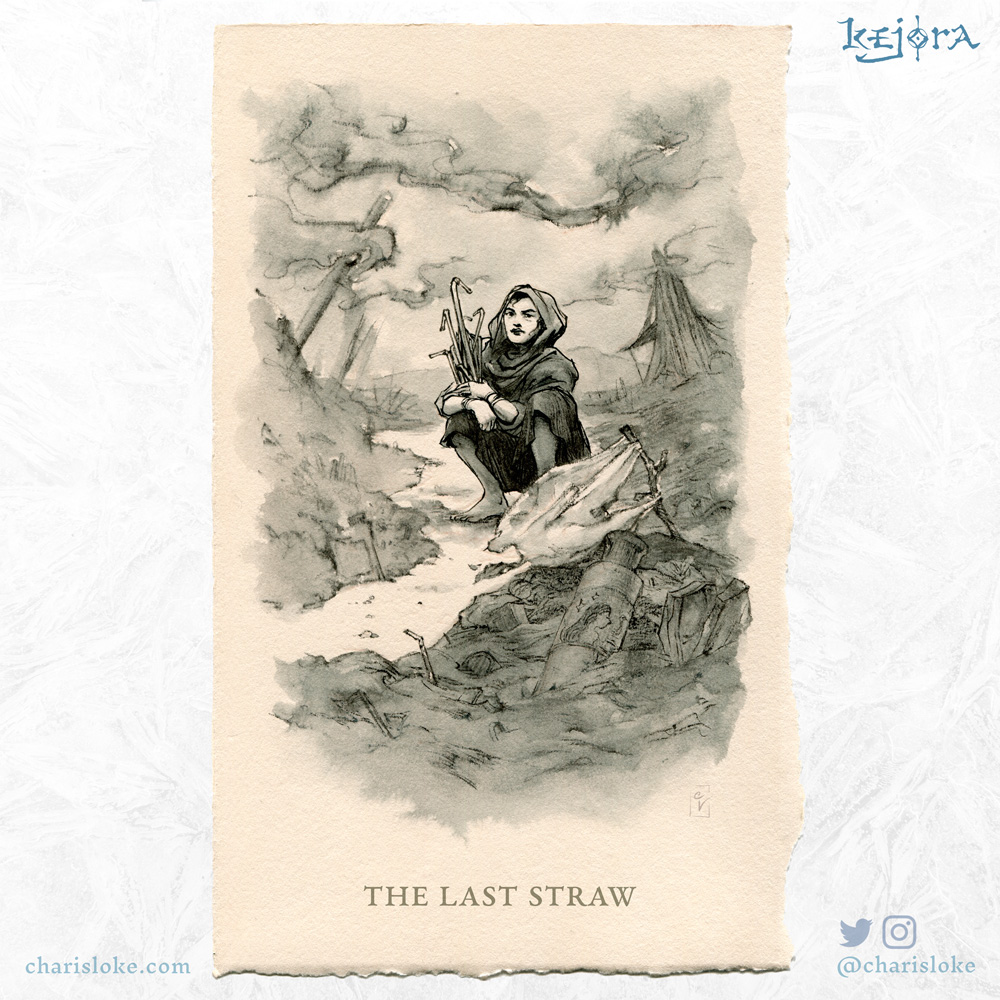 THE LAST STRAW: a Kejora story about a polluted world.