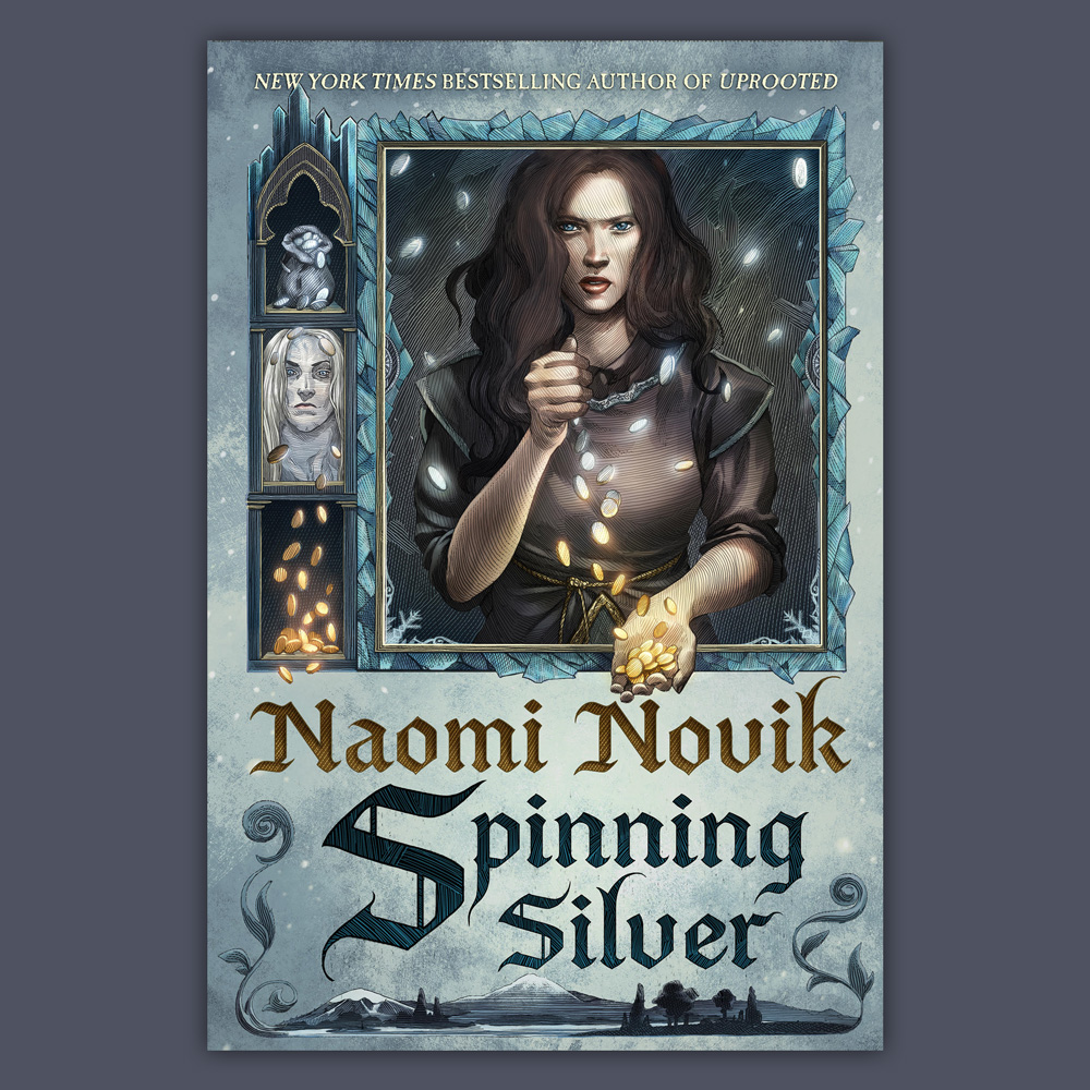 Spinning Silver - Illustration by Nicolas Delort