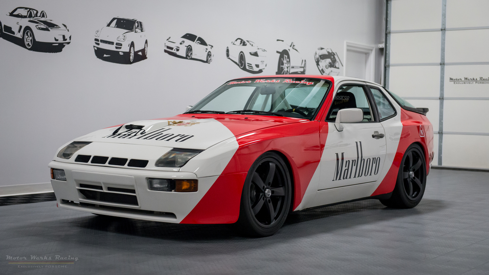 Porsche 944 Turbo Track Build
