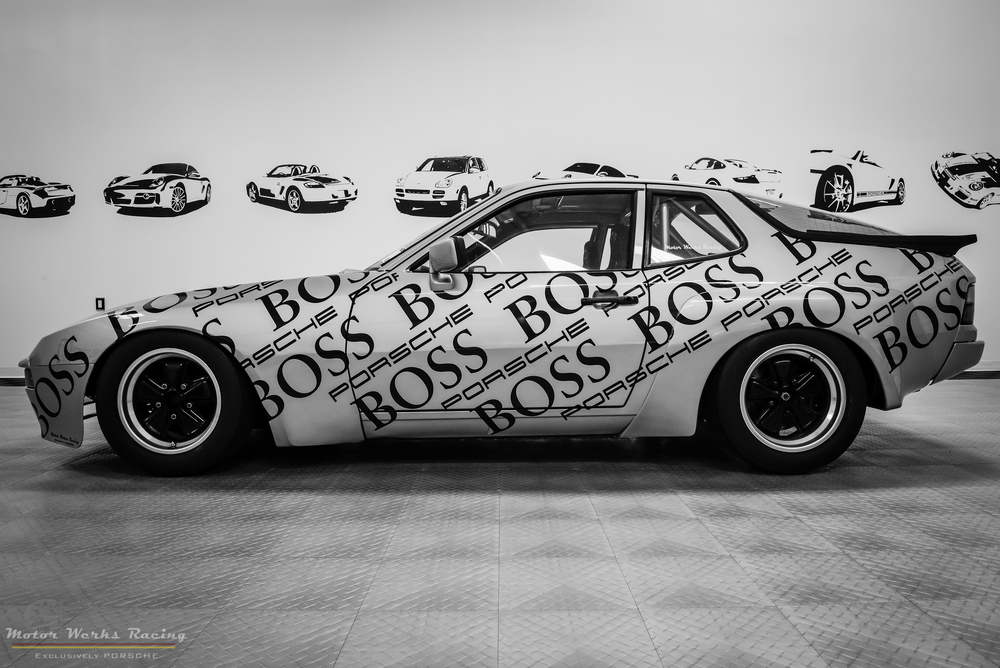 Motor Werks Racing Porsche 924 GT BOSS Tribute