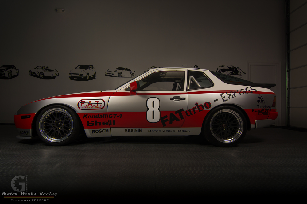 Motor Werks Racing Porsche 944 Race Car