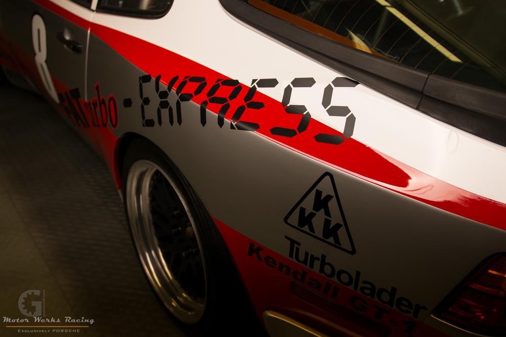 Motor Werks Racing Porsche Track Car