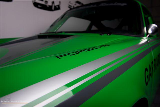 Classic Porsche 911 Race Car