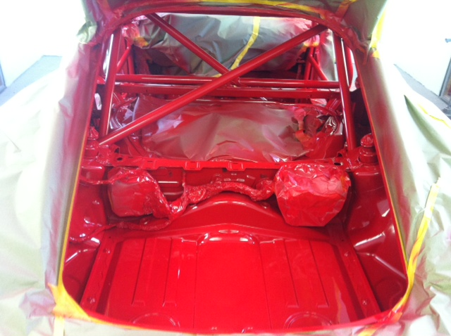 Motor Werks Racing Porsche Cayman S Roll cage