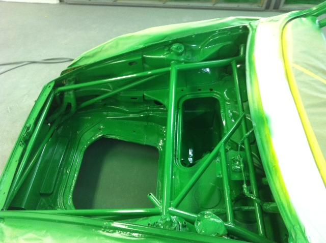 Motor Werks Racing Porsche 911 Back Half Roll Cage