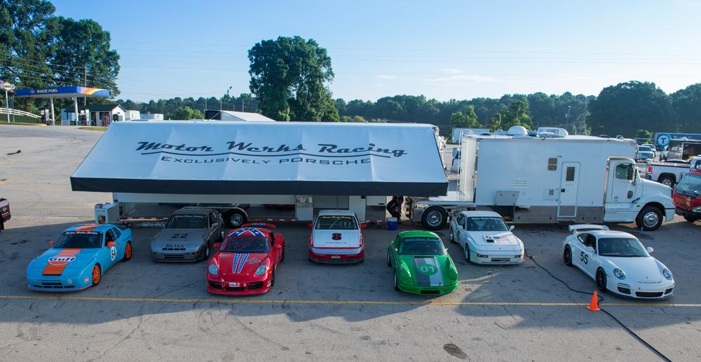 Motor Werks Racing Porsche DE Support