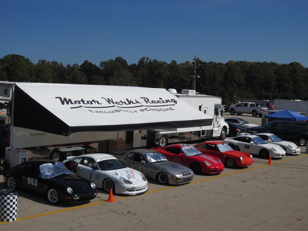 Motor Werks Racing Porsche Track Support