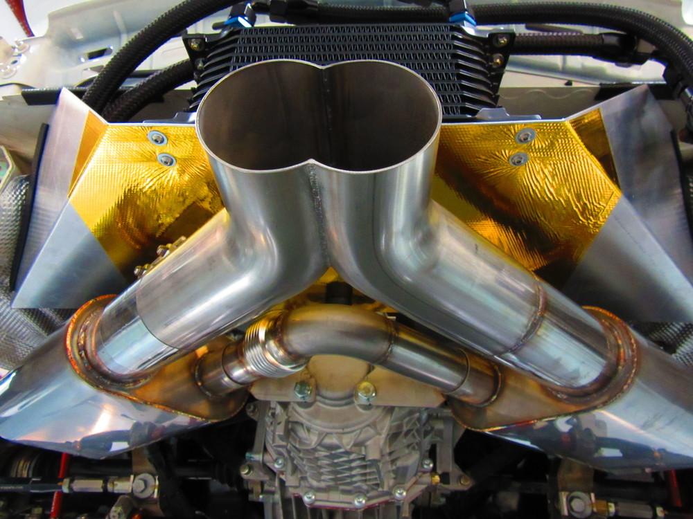 Motor Werks Racing Porsche Cayman Exhaust System