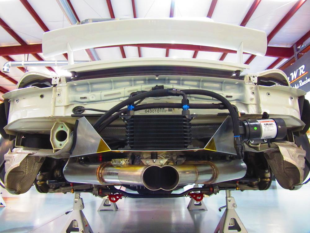 Motor Werks Racing Porsche Cayman S Exhaust