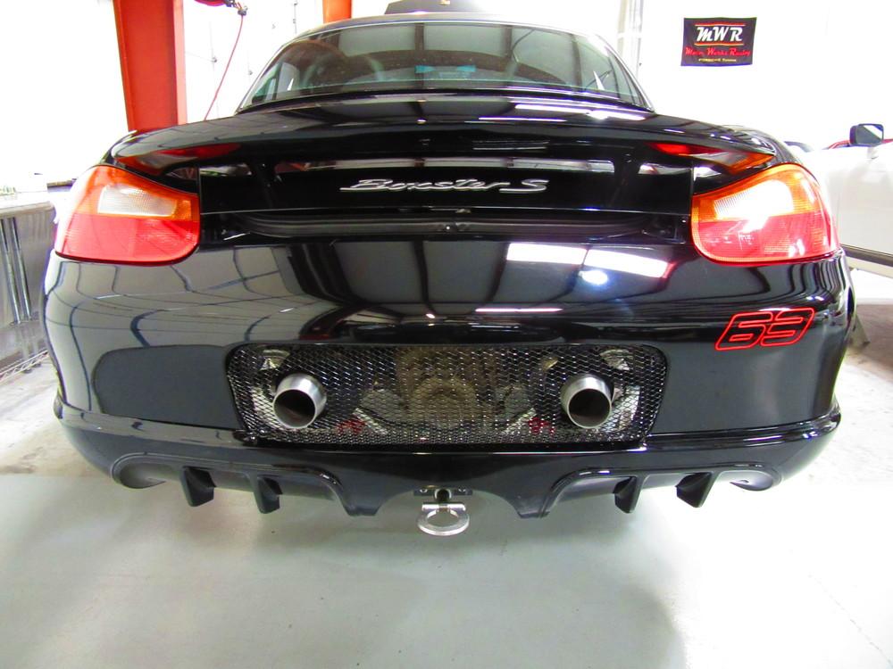 Motor Werks Racing Porsche Boxster Exhaust System