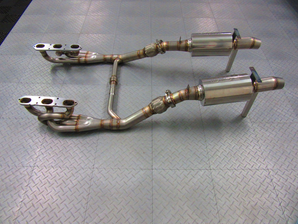 Motor Werks Racing Custom Porsche Headers & Exhaust System