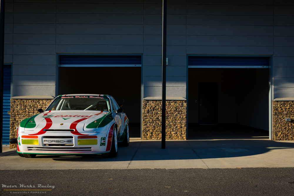 Motor Werks Racing Porsche Track Support at Atlanta Motorsports Park