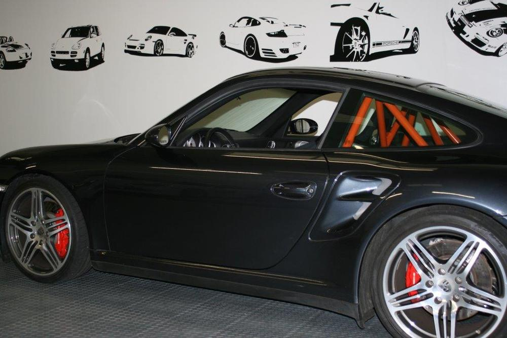 Motor Werks Racing Porsche Back Half Roll Bar Installed