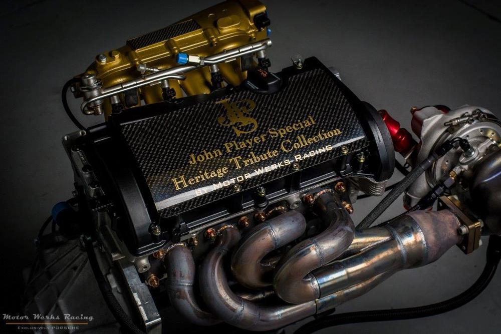 "Motor Werks Racing Porsche 924 1.8T Engine Conversion ""Patent Pending"""