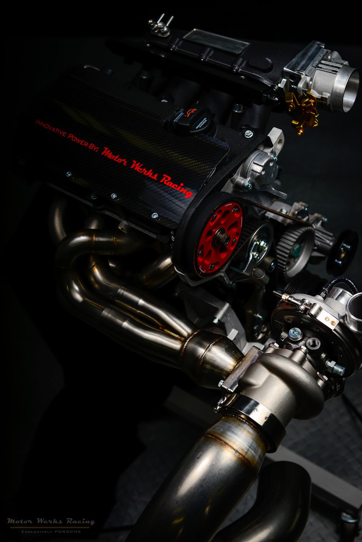 """Motor Werks Racing Porsche 924 / 944 1.8T Engine Conversion Swap """"Patent Pending"""""""