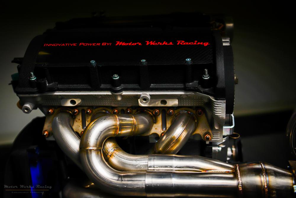 "Motor Werks Racing Porsche 924 / 944 1.8T Engine Conversion ""Patent Pending"""