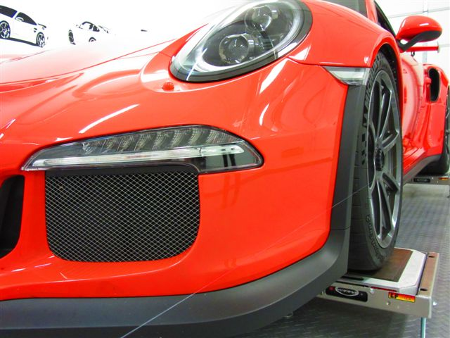 Motor Werks Racing Porsche 991 GT3 RS Alignment & Corner Balancing