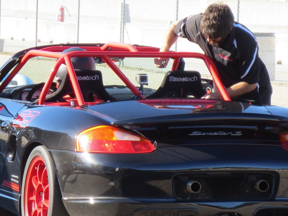 Motor Werks Racing Porsche Boxster Race Car