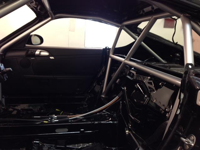 Motor Werks Racing Porsche Cayman Weld In Roll Cage