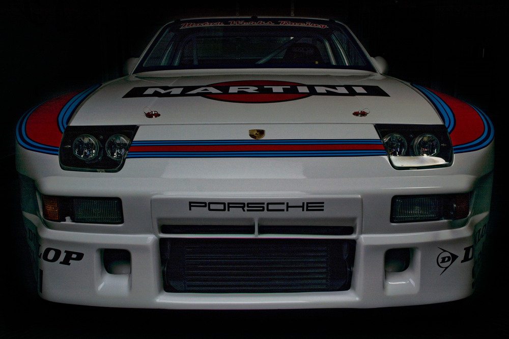 Motor Werks Racing Porsche 924 GTR Martini Tribute