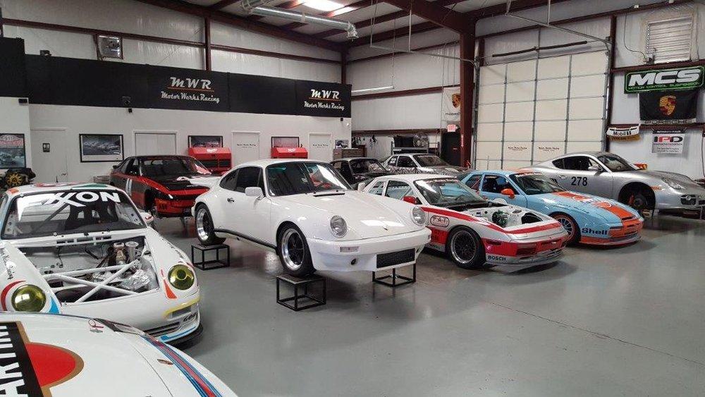 Motor Werks Racing Porsche Repair Shop