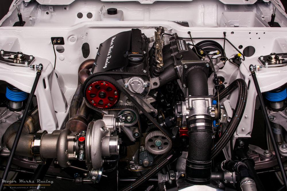 """Motor Werks Racing Porsche 924 / 944 1.8T Engine """"Patent Pending"""""""