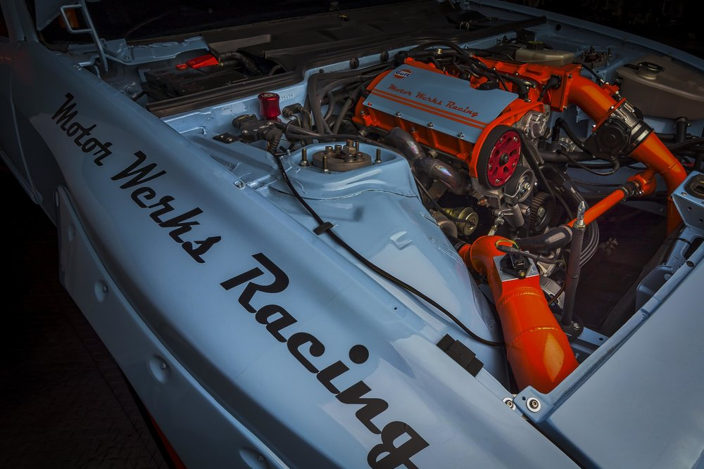 Porsche 944 1.8T Engine Conversion