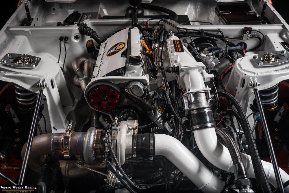 Motor Werks Racing Porsche 924 1.8T custom engine conversion