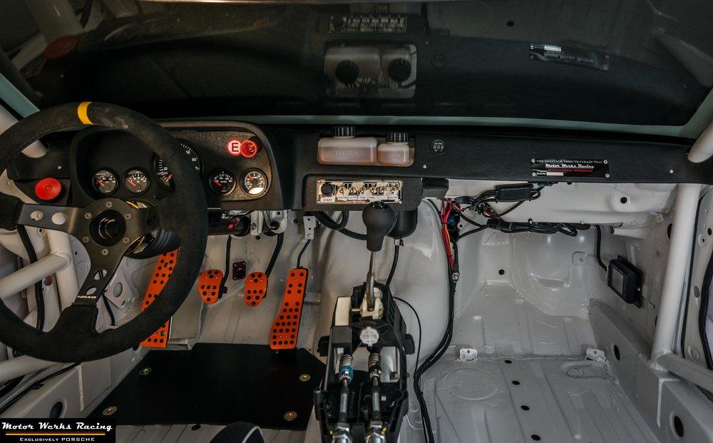 Motor Werks Racing Porsche 924 Custom Track Cockpit