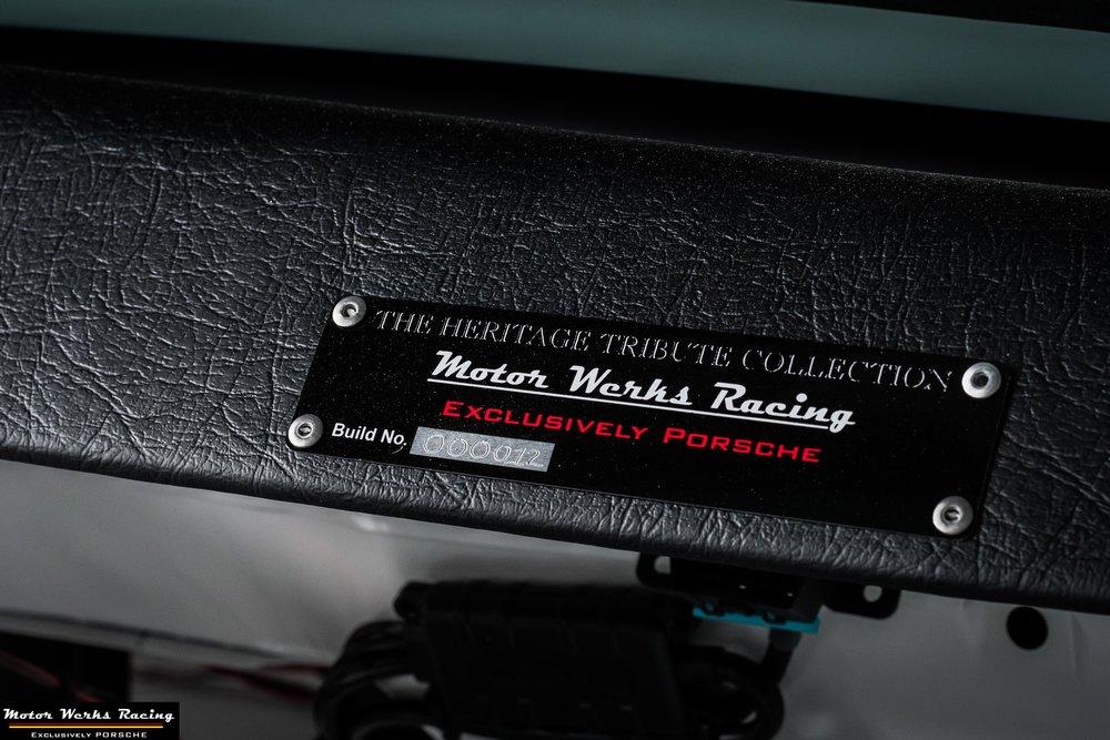 Motor Werks Racing Porsche Heritage Tribute Collection