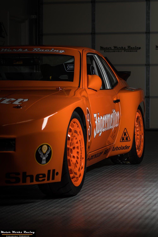 Motor Werks Racing Porsche 924 GTP Jagermeister Tribute