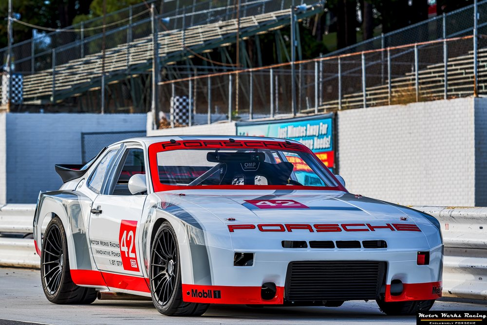 Motor Werks Racing Porsche 924 Innovative Power 1.8T engine conversion