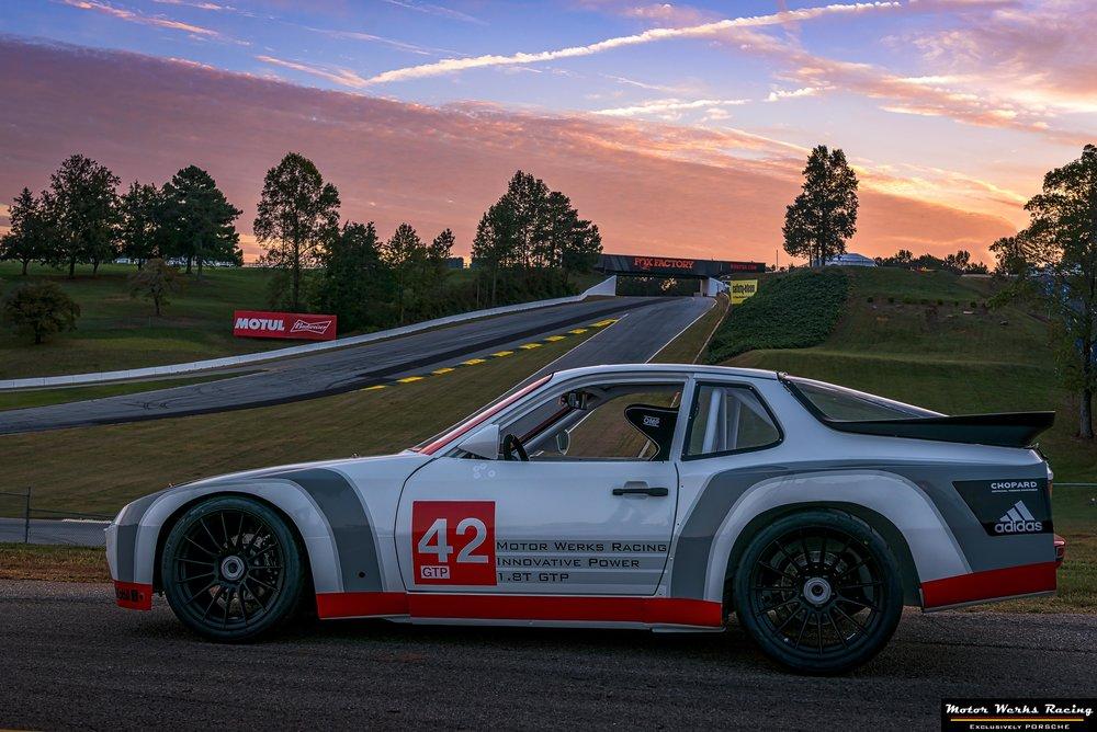 Motor Werks Racing Porsche 924 Track Build