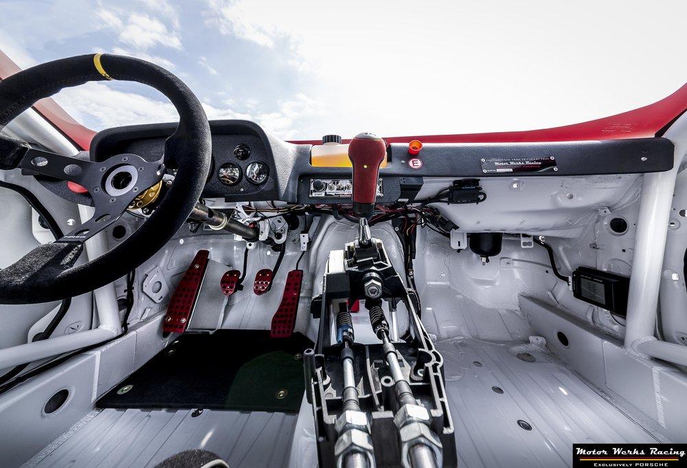 Motor Werks Racing Porsche 924 GTP Interior