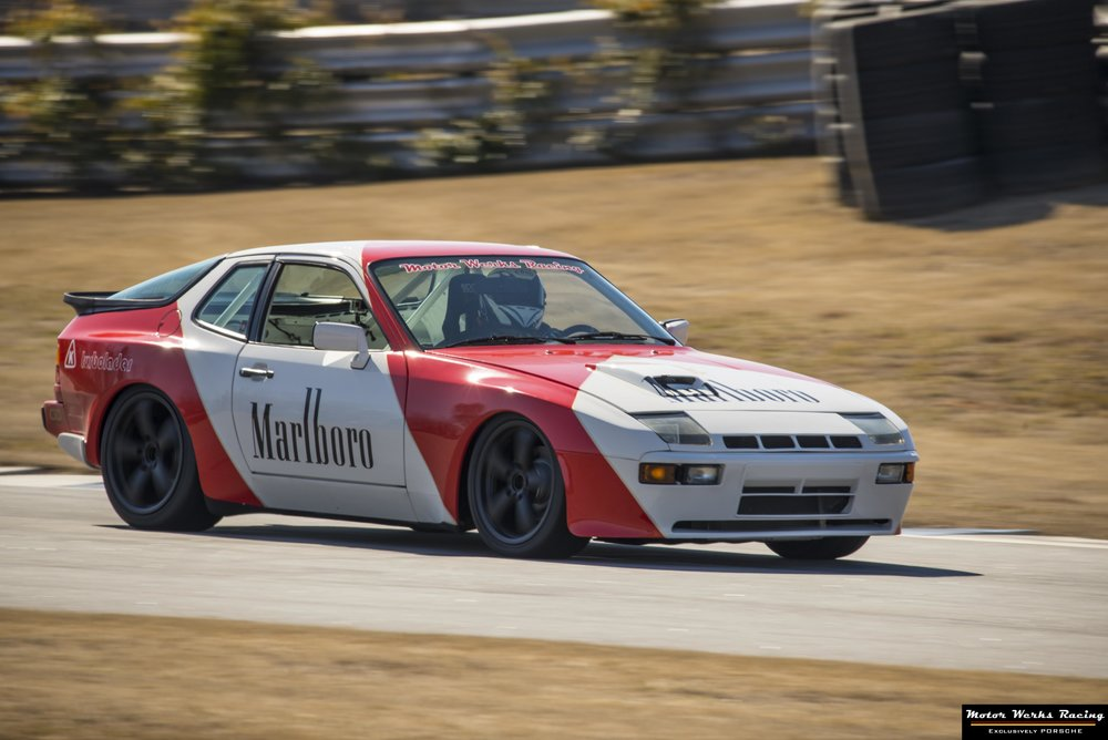 Motor Werks Racing Marlboro Tribute Turn Key Track Car