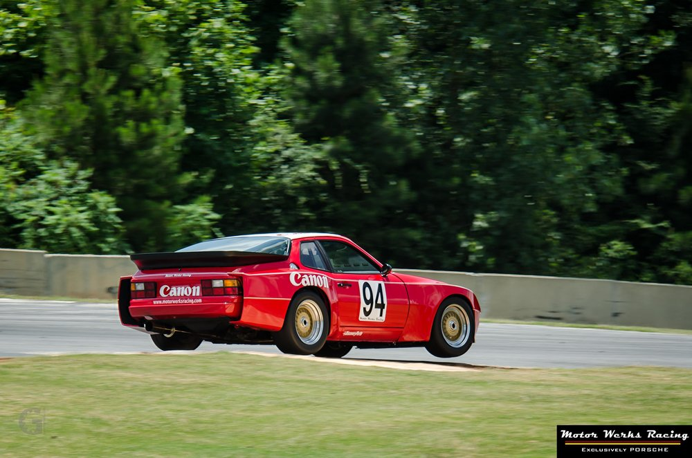 Motor Werks Racing Porsche 924 Canon Tribute at Road Atlanta