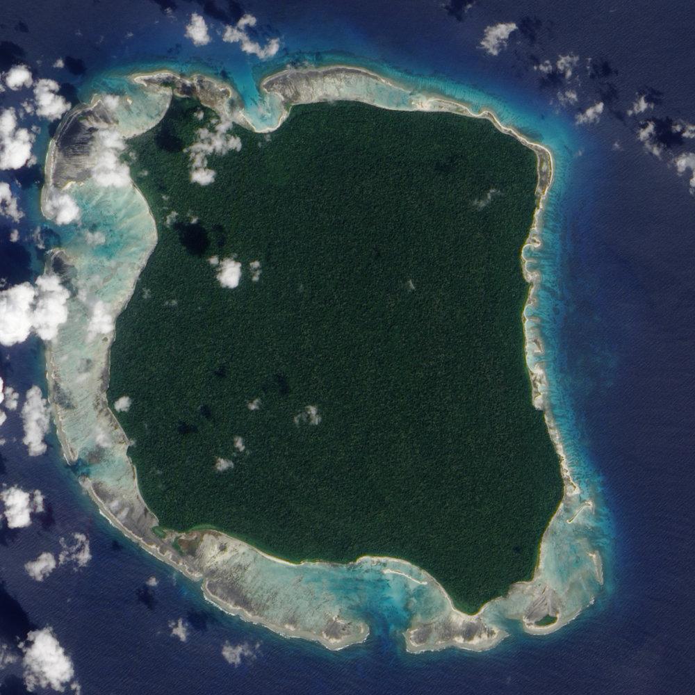 """Isla North Sentinel, un """"paraíso"""" verde y mortal"""