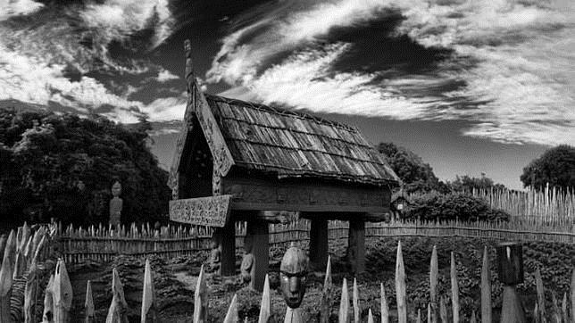 el típico hórreo neozelandés