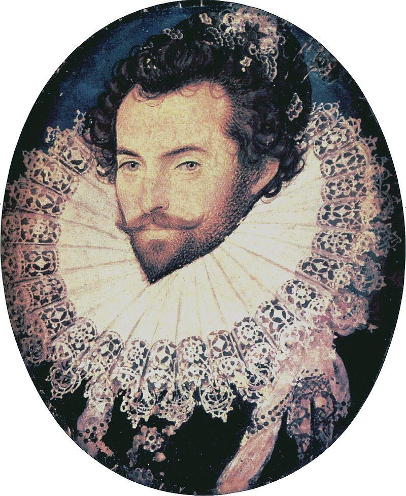 sir Walter Raleigh en todo su esplendor