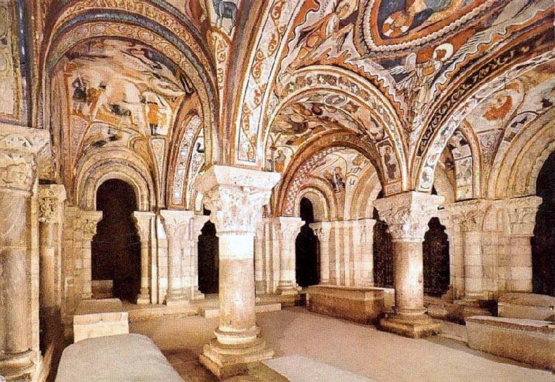 Panteón de Reyes de San Isidoro de León donde está enterrado García