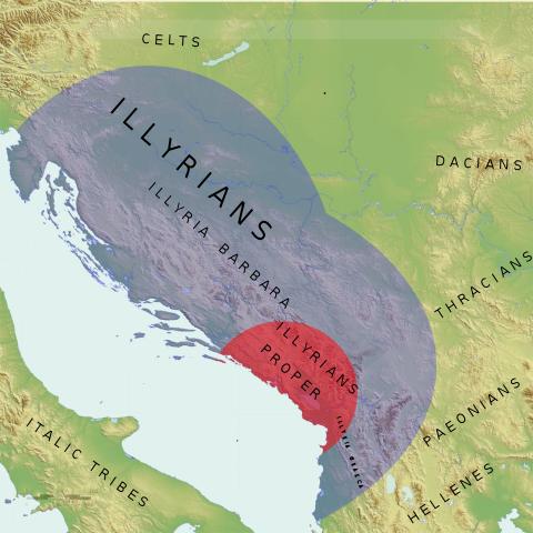Iliria durante la época de Teuta