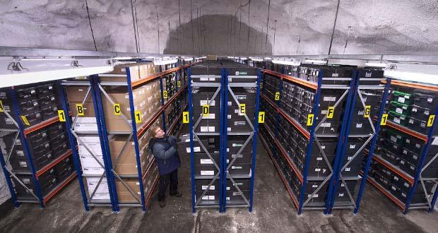 Sistema de almacenaje de las semillas