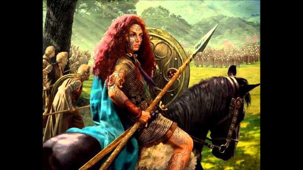 Dibujo de Boudica