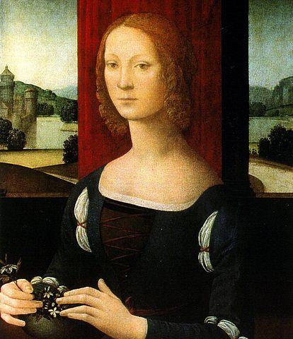 Único retrato que existe de Caterina Sforza