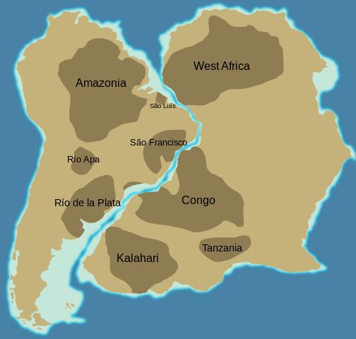 El Supercontinente de Gondwana